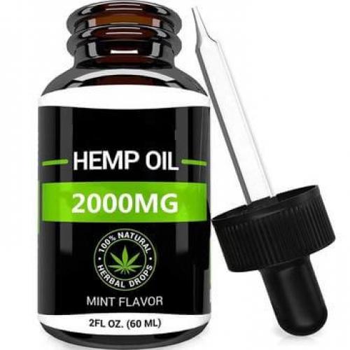 Organic CBD Oil Dropper