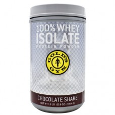 100% Whey Isolate, Chocolate Shake, 21 Servings (1.6 LBS)