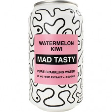Sparkling Hemp Water, Watermelon Kiwi, 12 (12 FL OZ.) Cans