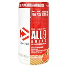 All 9 Amino, Juicy Watermelon, 30 Servings 15.87 Oz (450g)