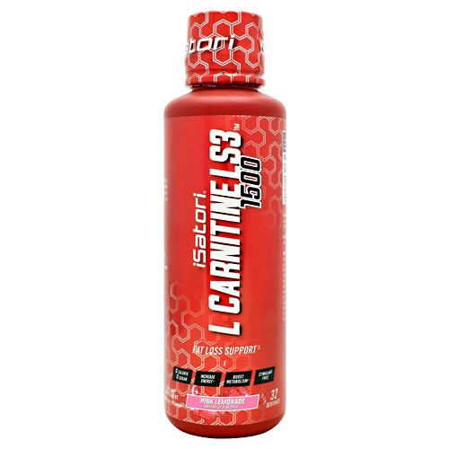 L-carnitine Ls3 1500, Pink Lemonade, 16 fl oz. (480 ml)
