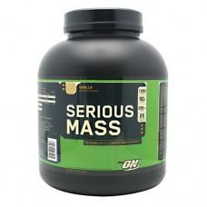 Serious Mass, Vanilla, 6 lbs (2727 g)