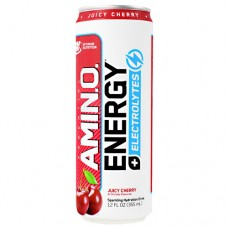 Amino Energy + Electrolytes Rtd, Juicy Cherry, 12 (12 fl oz) Cans