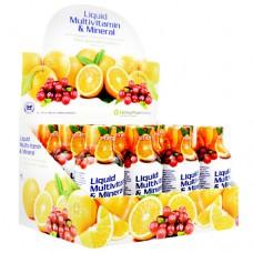 Liquid Multi-vitamin & Mineral, Citrus Burst With Cranberry, 12 (2 fl oz.) Bottles