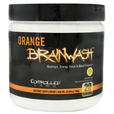 Orange Brainwash, Lemon Frost, 20 Servings (5.64 oz)