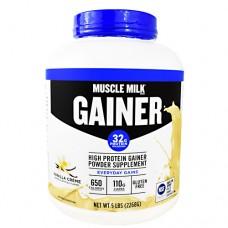 Muscle Milk Gainer, Vanilla Creme, 5 lbs (2268g)