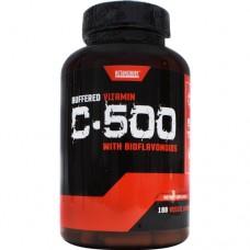 Buffered Vitamin C-500, 180 Veggie Capsules, 180 Veggie Capsules