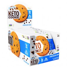 Keto Cookie, Chocolate Chip, 12 (1.6 oz) Cookies