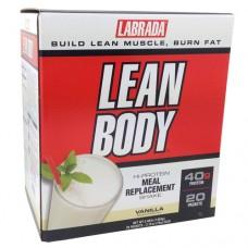 Lean Body, Soft Vanilla Ice Cream, 20/Pack