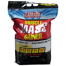 Muscle Mass Gainer, Vanilla, 12 lb (5443g)