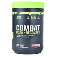 Combat Bcaa + Recovery, Fruit Punch, 30 Servings (17 oz.)