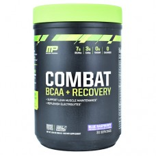 Combat Bcaa + Recovery, Blue Raspberry, 30 Servings (16.9 oz.)