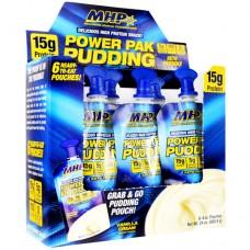 Power Pak Pudding, Vanilla Cream, 6 (4 oz) Pouches