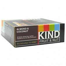 Kind Fruit & Nut, Almond & Coconut, 12 - 40g/1.4 oz bars [480g (16.8 oz)]