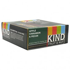 Kind Fruit & Nut, Apple Cinnamon & Pecan, 12 - 40g/1.4 oz bars [480g (16.8 oz)]