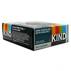Kind Bar, Dark Chocolate Nuts & Sea Salt, 12 (1.4 oz) Bars