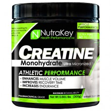 Creatine Monohydrate, Unflavored, 300 Grams