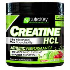 Creatine Hcl, Cherry Limeade, 125 Scoops