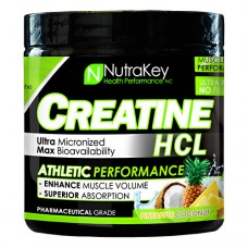 Creatine Hcl, Pineapple Coconut, 125 Scoops