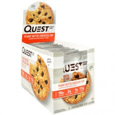 Quest Protein Cookie, Peanut Butter Chocolate Chip, 12 (2.04oz) Cookies