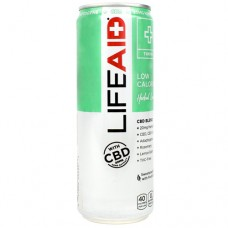 Lifeaid With Cbd, Herbal Lemon, 12 (12 fl oz) Cans