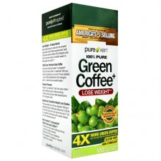 100% Pure Green Coffee+, 100 Easy-to-swallow Veggie Tablets, 100 Easy-to-Swallow Veggie Tablets