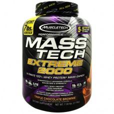 Mass Tech Extreme 2000, Triple Chocolate Brownie, 7 lb (3.18kg)
