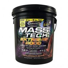 Mass-tech Extreme 2000, Triple Chocolate Brownie, 22.00 lbs (9.98kg)