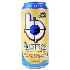 Bang, Birthday Cake Bash, 12 (15 fl oz) Cans