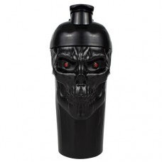 Shaker Cup, Black Skull, 700 ml