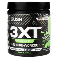 3xt Pump, Green Apple, 30 Servings