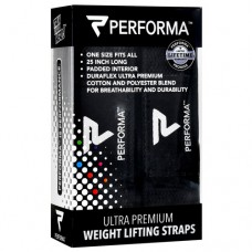 Weight Lifiting Straps, Black, 1 Pair