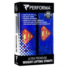 Weight Lifiting Straps, Superman, 1 Pair