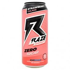 Raze Energy, Strawberry Colada, 12 - 16 FL OZ Cans