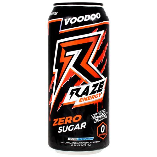 Raze Energy, Voodoo, 12 (16 fl oz) Cans