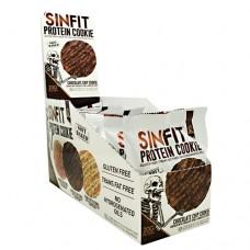 Sinfit Cookie, Chocolate Chip Cookie, 10 - 2.75oz (78g) Per cookie