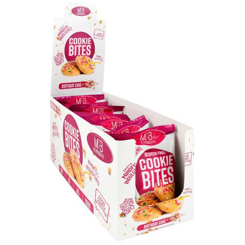 Cookie Bites, Birthday Cake, 10 (1.9 oz) 2 Pack Cookies