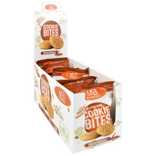 Cookie Bites, Snickerdoodle, 10 (1.9 oz) 2 Pack Cookies