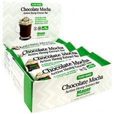Active Hemp Extract Bar, Chocolate Mocha, 12 (1.7 oz) Bars