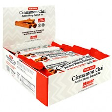 Active Hemp Extract Bar, Cinnamon Chai, 12 (1.7 oz) Bars