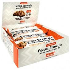 Active Hemp Extract Bar, Pecan Brownie, 12 (1.7 oz) Bars