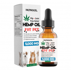 30 ML ,5000 MG Pet CBD Hemp Oil For Dogs and Cats